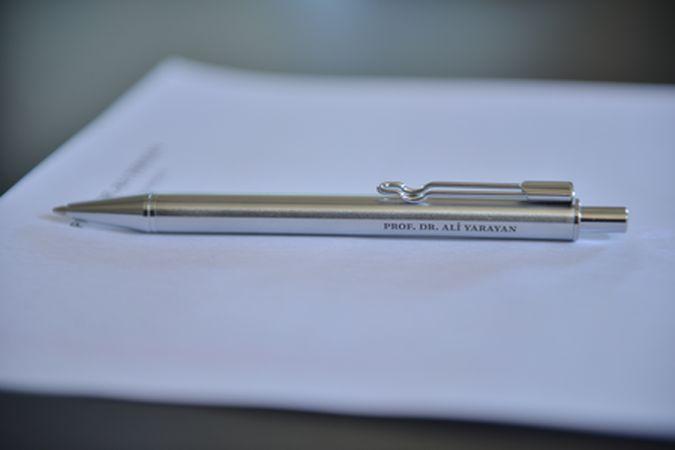 Kugelschreiber der Anwaltskanzlei
