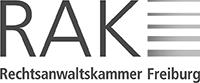 Prof. Dr. Ali Yarayan ist Mitglied in der Rechtsanwaltskammer Freiburg